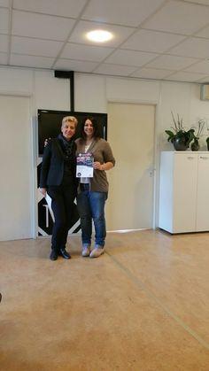 Consegna diploma per trainer airbrush