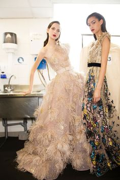 Elie Saab | Couture Fall 2016 Backstage – The Impression