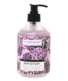 Fresh Lavender Cleansing Hand Soap
