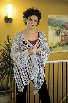 This is another stunning cardigan, but I need to check my yarn stash to see if I have enough.