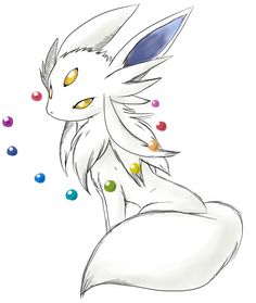 "This should be Eevee's evolution. If you level an Eevee long enough without changing it...Someone came up with the name ""eeveon"". I like it. It doesn't matter what your favorite pokemon is...we all love eevee and its evolutions."