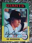 For Sale: VINTAGE  ED GOODSON  SAN FRANCISCO GIANTS BASEBALL CARD TOPPS  #322   1975 http://sprtz.us/SFGiantsEBay