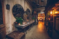 Big Daddy Antiques LA Wedding with Gather Events, Amy   Stuart Photography and Found Vintage Rentals