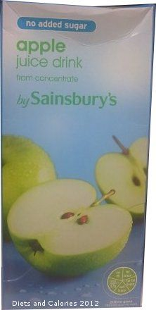 No Added Sugar Apple Juice Drinks from Sainsbury's