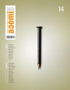 Acemi edebiyat dergisi kapak tasarımı sayı-14
