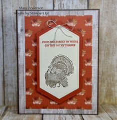 Seventeen Stampin' Up! Projects by Inkin' Krew Featured Stampers – Stamp With Amy K Thanksgiving Cards, Old Ones, Fall Cards, Pretty Cards, Gift Certificates, Sweet Sixteen, Stampin Up Cards, Free Gifts, Seventeen