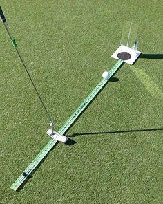 TPK Golf Training Aid Putting Stick, Green