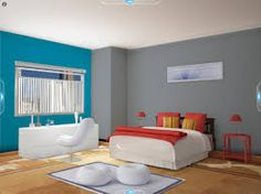 Recamara comex pinterest for Pintura gris para interiores