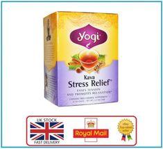follow gethealthsolution.com #howtoweightloss Yogi Tea - Kava Stress Relief - Caffeine Free - 16 Tea Bags