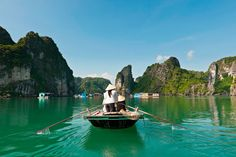 Here at Rough Guides we've always known that Vietnam is magical. The gleaming skyscrapers of the country's booming cities have a singular kind of beauty that Beautiful Islands, Beautiful Places, Most Beautiful, Vietnam Travel, Thailand Travel, Ha Long Bay, Girls Vacation, Natural Wonders, Travel Destinations