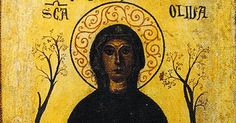 According to a pious legend, St. Olivia was described as a ravishing beauty of 13 years when Saracens captured her at Palermo, Sicily in the 9th century. She was deported to Tunis where she began to perform miracles and convert Muslims to Christianity.  Exasperated Muslim authorities arrested, ...