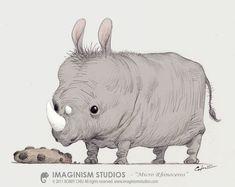 Micro Rhino by imaginism.deviantart.com on @deviantART