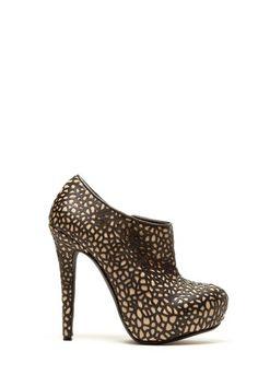 Laser cut detail interests this shoe phreak!!