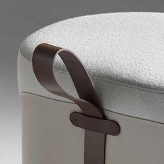 Brown leather strap/Elan Greystone Leather