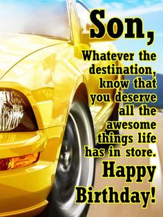 Birthday message for son quotes life 16 Ideas Happy Birthday Son Images, Birthday Messages For Son, Happy Birthday Quotes For Him, Happy Birthday Greetings Friends, Happy Birthday For Him, Birthday Wishes Quotes, Husband Birthday, Sister Birthday, Birthday Ideas