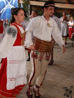 """Jurgów folk costume - Zespół """"Cepelia - Podhale"""" grupa spiska z Jurgowa, Poland"""