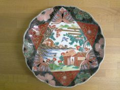 Stunning 19th c Japanese plate available from Mallingbournes on Etsy
