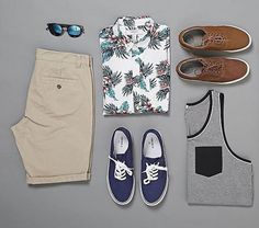 ideias de combos para usar no Carnaval combo-verao-masculino-estiloNo No is a word in English, which may be used as: No and variants may also refer to: Cool Outfits, Casual Outfits, Fashion Outfits, Men's Outfits, Casual Wear, Men Casual, Mein Style, Outfit Grid, Men's Wardrobe