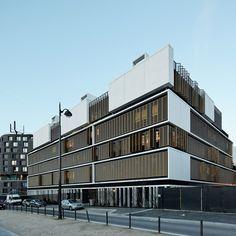 Marjan Hessamfar & Joe Verons Associates completes child welfare facility in Paris