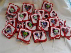 Stampin up! Valentine treats