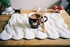 Imagen de cute, bear, and cup