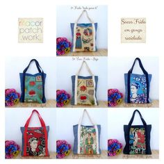 Frida Kahlo tote bags