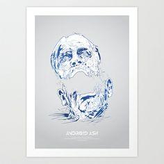ASH Art Print by Tomasz Zawistowski - $18.72