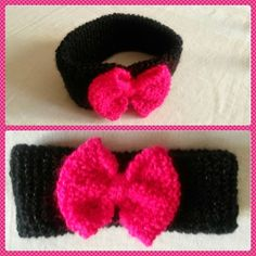 Instant de maman: Instant tricot - DIY - un bandeau à cheveux tricoté