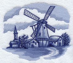 I have this Delft pattern all over my home!