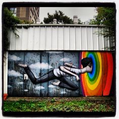 Street art. Graffiti. Art.