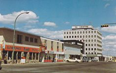 Downtown, YELLOWKNIFE, NWT, Canada, 50-60s
