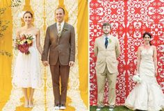 Photo Booths – The photo booth trend is definitely one of the cutest, bringing a little cheeky humour to your wedding. A bold and bright pattern as the photobooth backdrop will also make for a really fun statement.