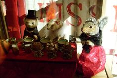Squirrel & Ferret Tea Party