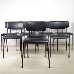 Located using retrostart.com > Dinner Chair by Unknown Designer for Gispen