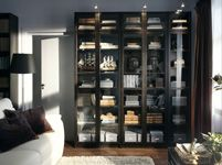 Ikea Billy Bookcase Black And White