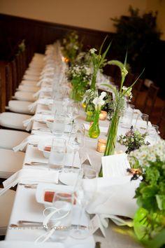 wedding reception at Preservation Hall Wellfleet by Grazier Photography and Dejana Raiola Events
