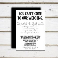Reception only invitation wording wedding help tips pinterest 16 wedding reception only invitation wording examples leah printable elopement reception by melliebellieboutique filmwisefo Images