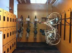 WSI Davis Bike Room. What does your office bike room look like?