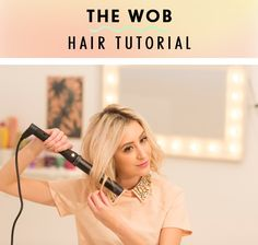 Fancy getting on the Wob bandwagon but don't want to cut your lovely locks? This tutorial shows you how to get the freshest new look WITHOUT cutting your hair.