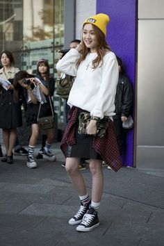 2014 s/s seoul fashion week street fashion