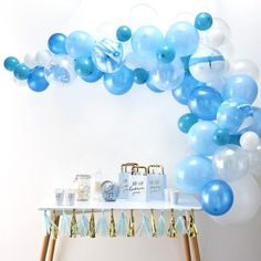 Blue Balloon Arch Kit | The Original Party Bag Company