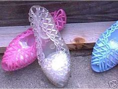 1980's Jelly Shoes