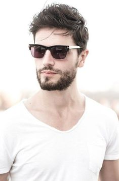 Beards are back in vogue, and while facial hair isn't for everyone, the very best modern-day beard styles have actually truly changed the game. Locate the very best as well as coolest beard styles for men. Eyewear Trends, Ray Ban Sunglasses Sale, Sunglasses Outlet, Sunglasses 2016, Sunglasses Online, Hair And Beard Styles, Hair Styles, Men's Grooming, Haircuts For Men