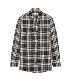 Plaid Shirt by Saint Laurent