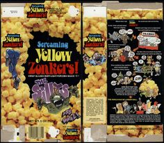 Lincoln Snacks - Screaming Yellow Zonkers! - The Sillys are Back - snack box - 1970's 1980's by JasonLiebig, via Flickr