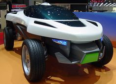 Daihatsu D-Compact X-Over  Daihatsu asked ItalDesign for the design of a compact crossover car.  ID created a small car, featuring a windshield-roof-combination, so the driver can feel like he is in a convertible.