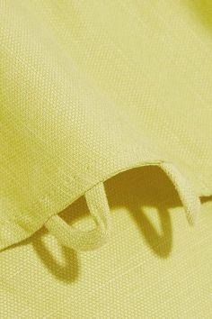 APIECE APART - Reina Ruffled One-shoulder Tencel And Linen-blend Midi Dress - Green - US10