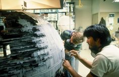 Star Wars - #ThrowbackThursday - Modelmakers pulled long hours...
