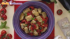 Ricetta Gnocchi di melanzane con pomodorini e basilico
