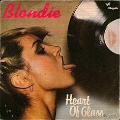 "Blondie  ""Heart of Glass""  Chrysalis Records"